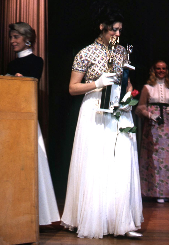 Cathryn winning Miss New Haven